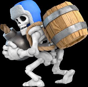 Gigante Esqueleto Clash Royale (azul) Giant Skeleton