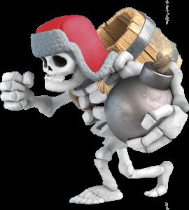 Gigante Esqueleto do Clash Royale