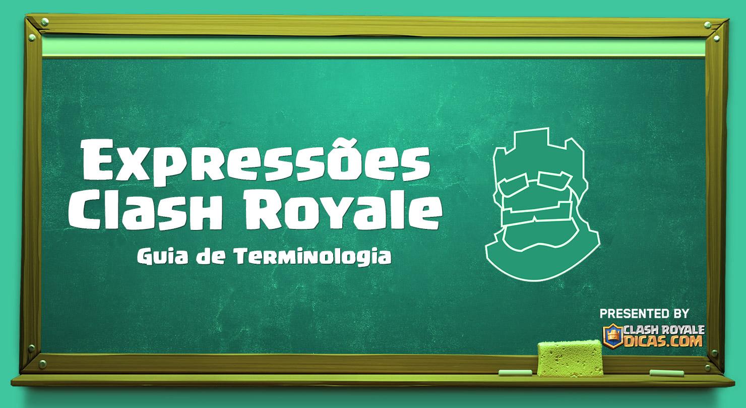 Expressões Clash Royale