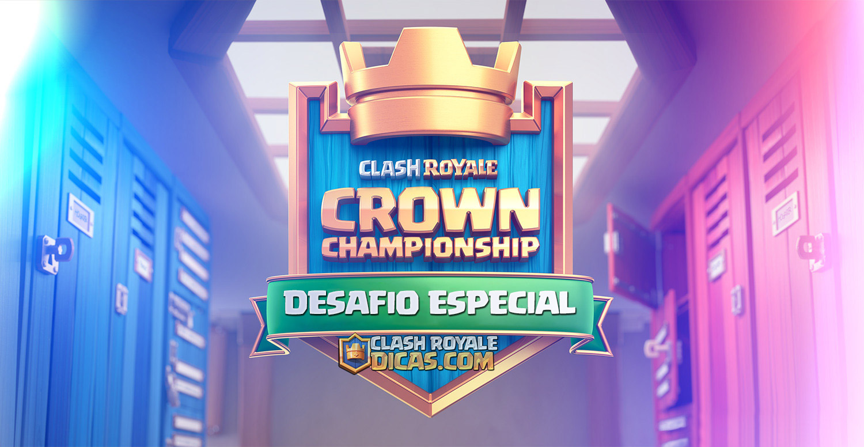 Vazou O MAIOR DESAFIO do Clash Royale