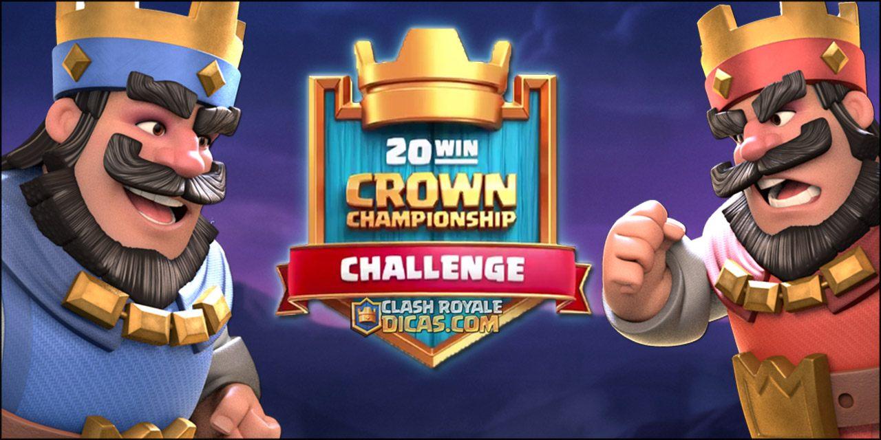 Tudo sobre o Desafio de 20 Vitórias do Crown Championship