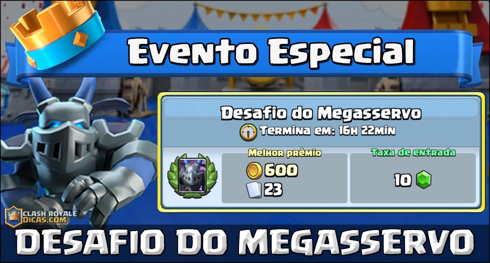 Desafio do Megasservo: Detalhes + Enquete!