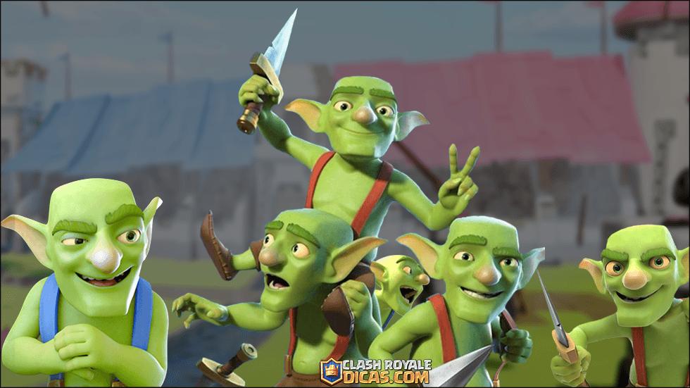 Goblins - Curiosidades Comuns Clash Royale