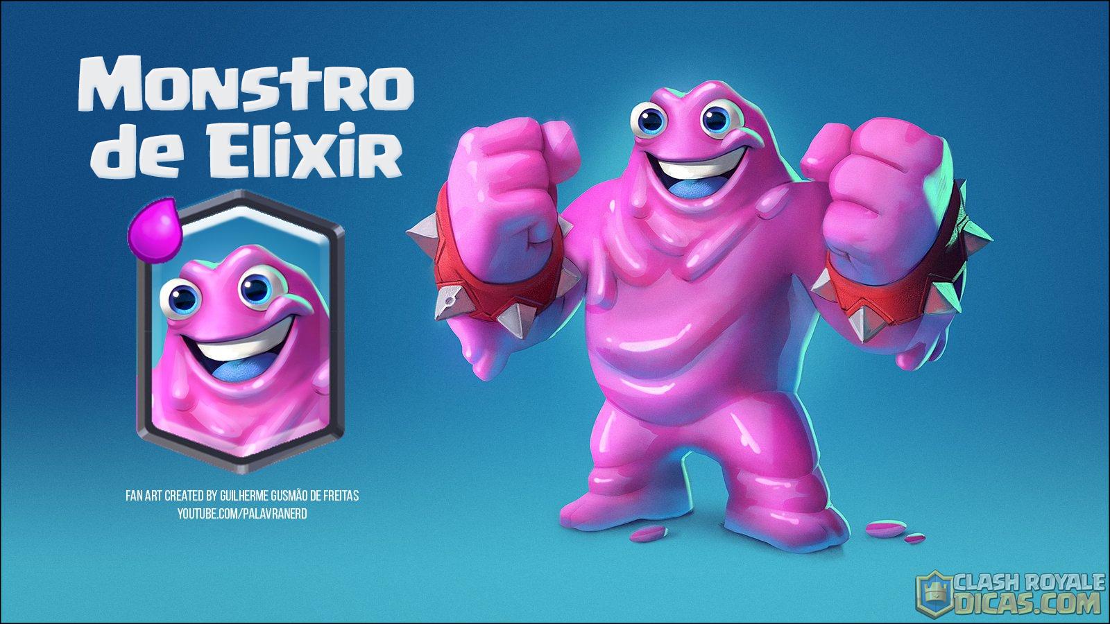 Fanart do verdadeiro Monstro de Elixir!