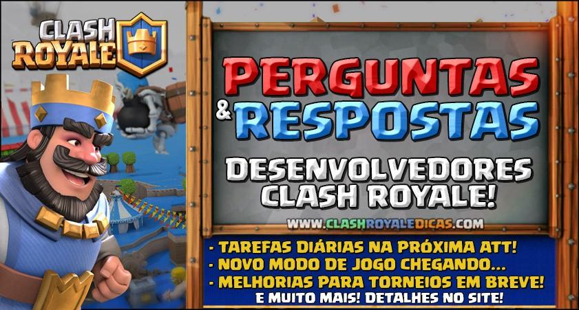 Q&A com desenvolvedores [#08] - Clash Royale