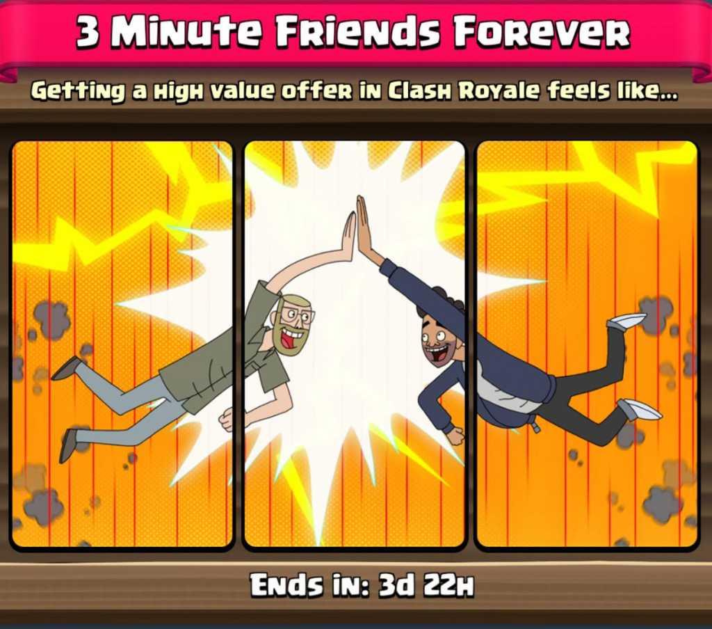 Novas Ofertas na Loja: Melhores amigos por 3 minutos! - 1