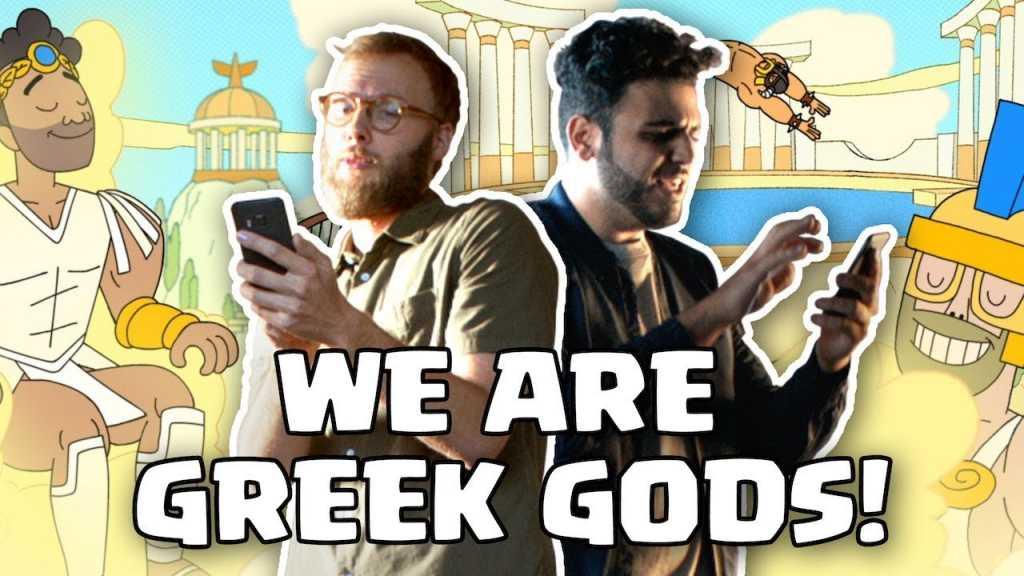 Novo comercial: Nós somos DEUSES GREGOS! - 1