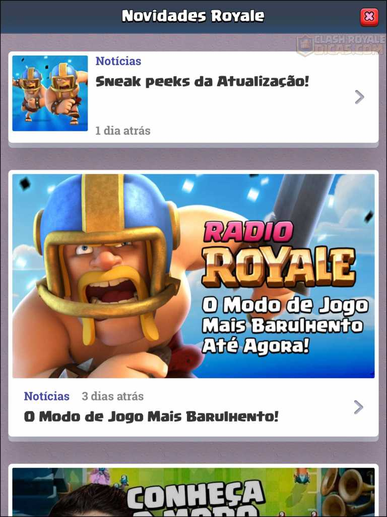 Sneak Peek #03: Copiar Decks fora do jogo, Loja/News Royale Reformuladas e mais - 8