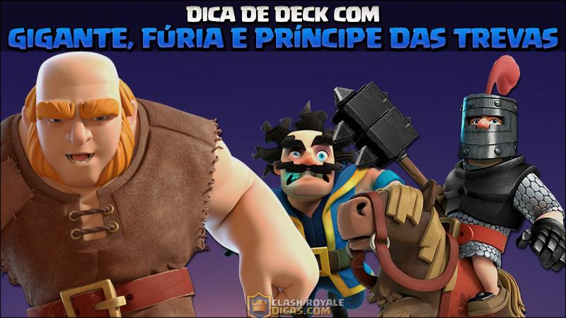 Deck de Gigante, Fúria, Príncipes das Trevas e Mago Elétrico