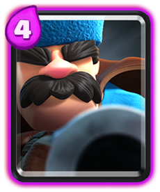 Carta do Caçador de Clash Royale - Wiki da Carta