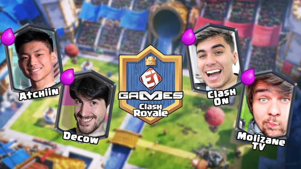 Copa EI Games de Clash Royale – Dia 8 - 1