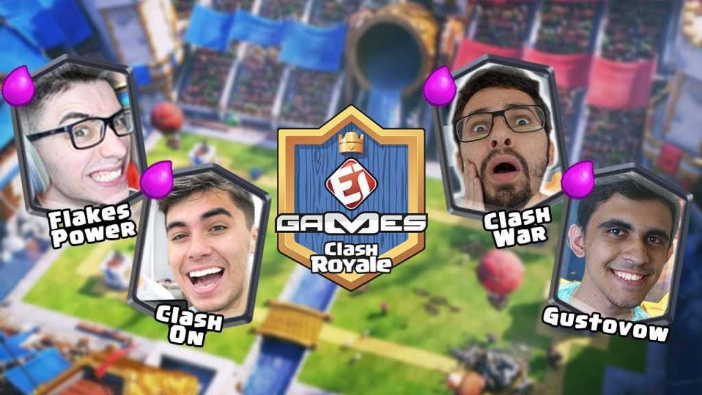 Copa EI Games de Clash Royale – Quartas de Final - 1