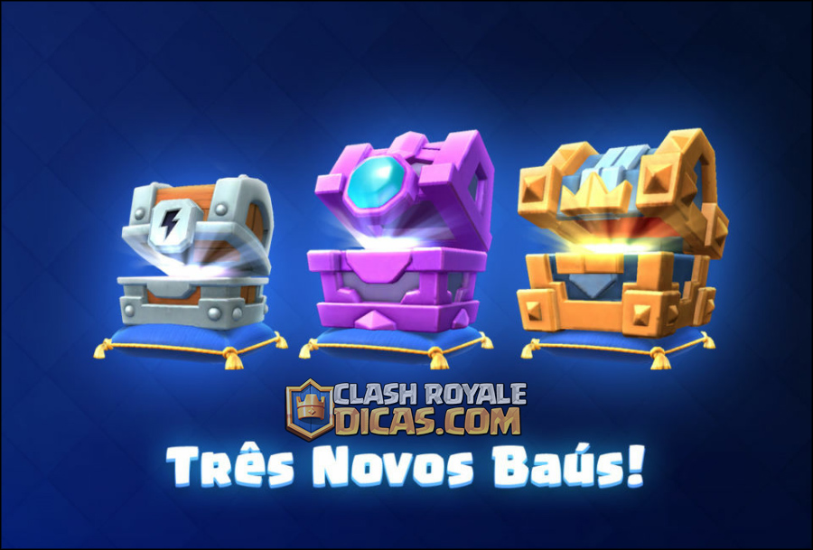 Revelados os 3 Novos Baús do Clash Royale! - 1
