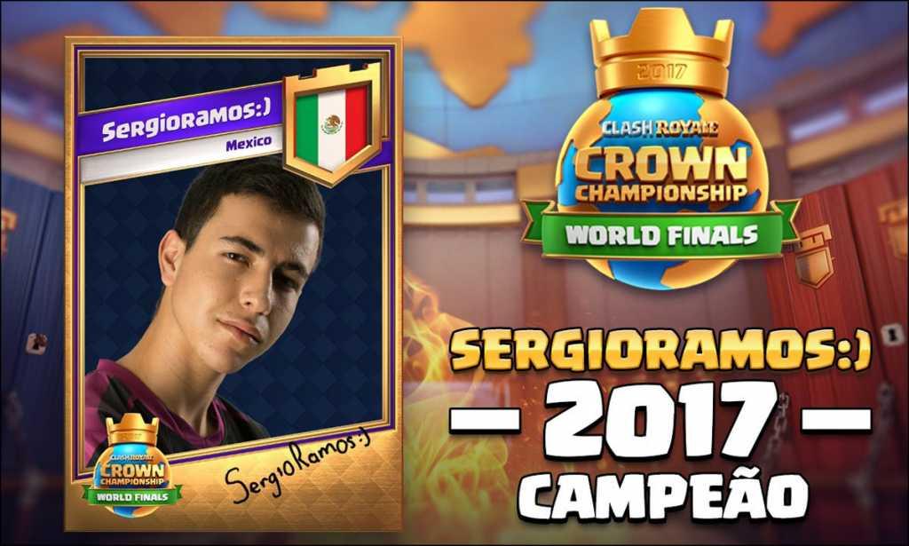 SergioRamos vence o Torneio Mundial de Clash Royale! - 1