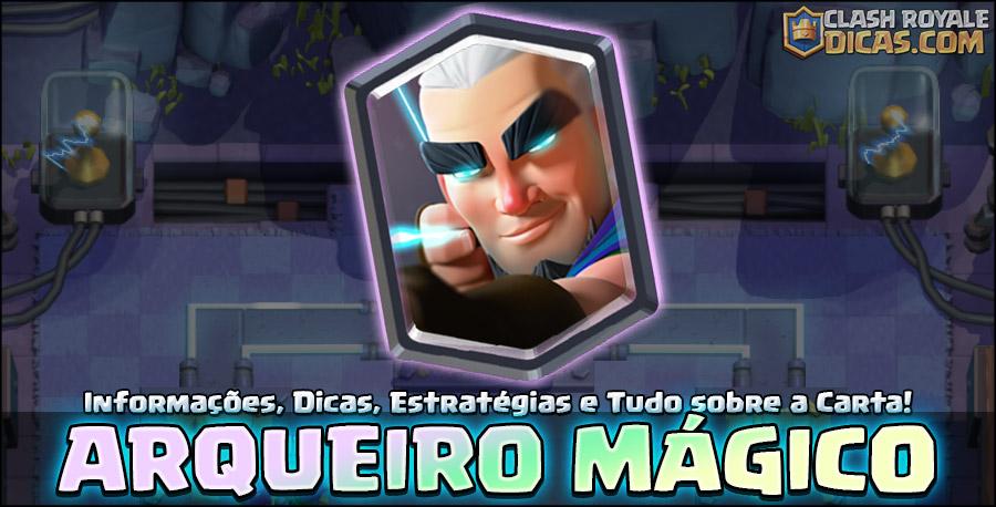 Carta do Arqueiro Mágico em Clash Royale