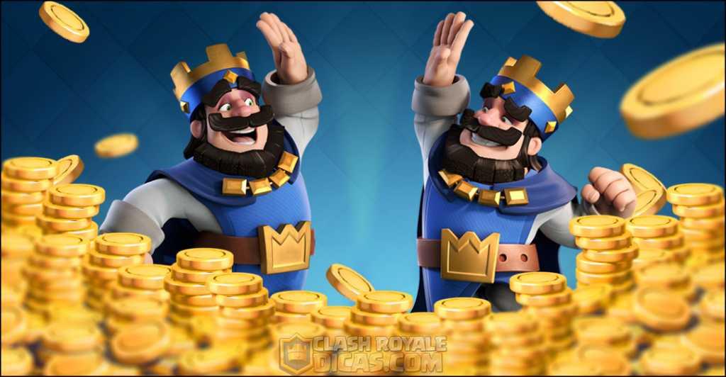 10 Maneiras de juntar muito ouro no Clash Royale