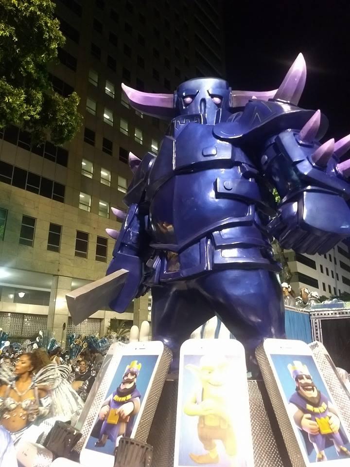 PEKKA faz aparição no Carnaval 2018 - 1