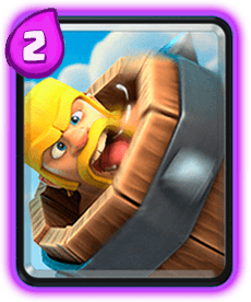 Carta do Barril de Bárbaro do Clash Royale