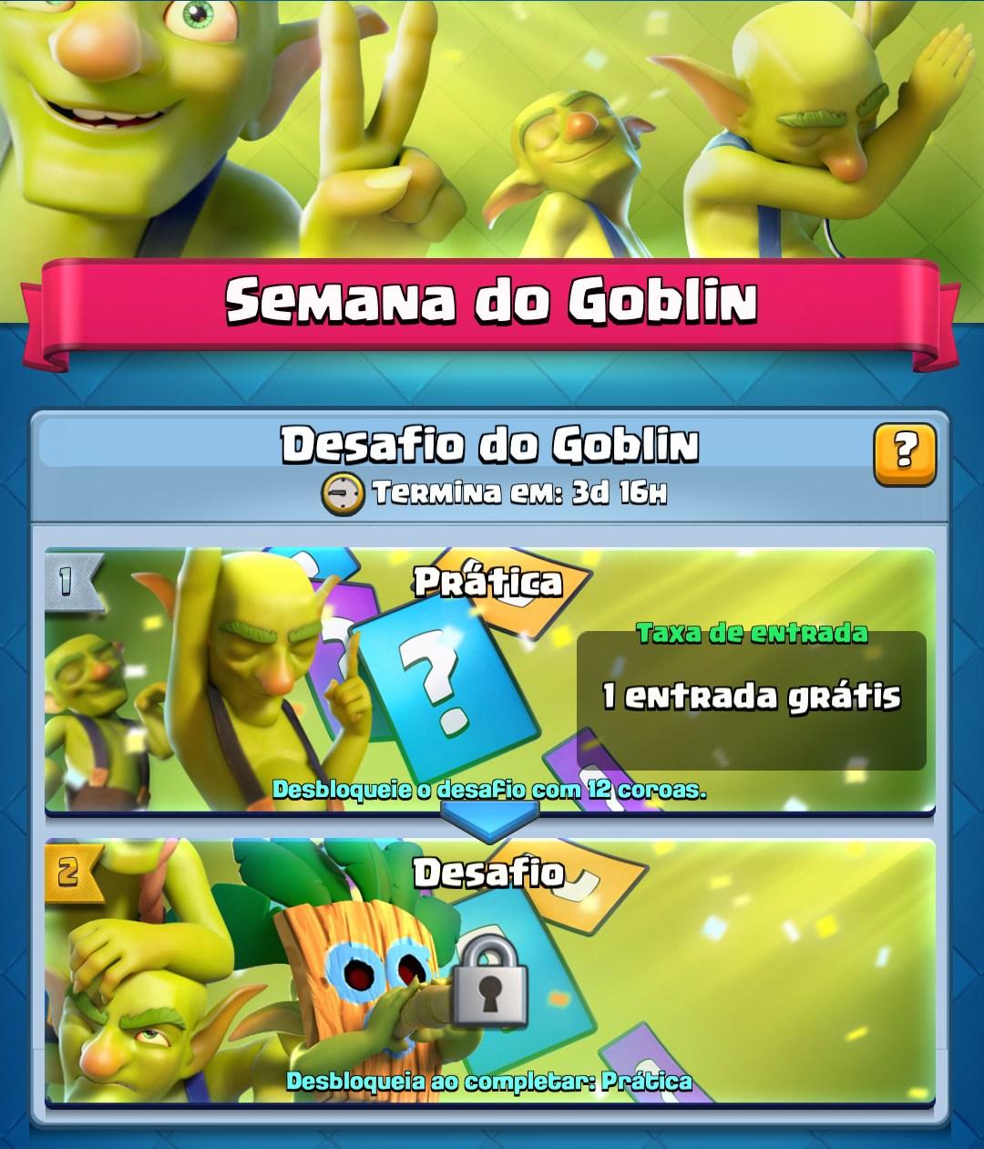 Semana do Goblin com Desafio especial (Info + Decks) - 1
