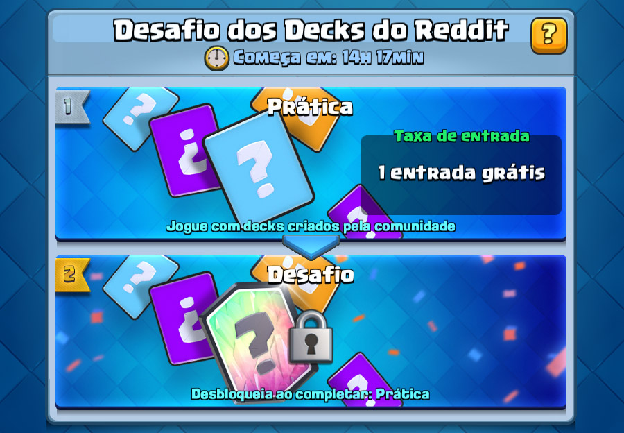Desafio dos Decks do Reddit (Conheça todos decks) - 1