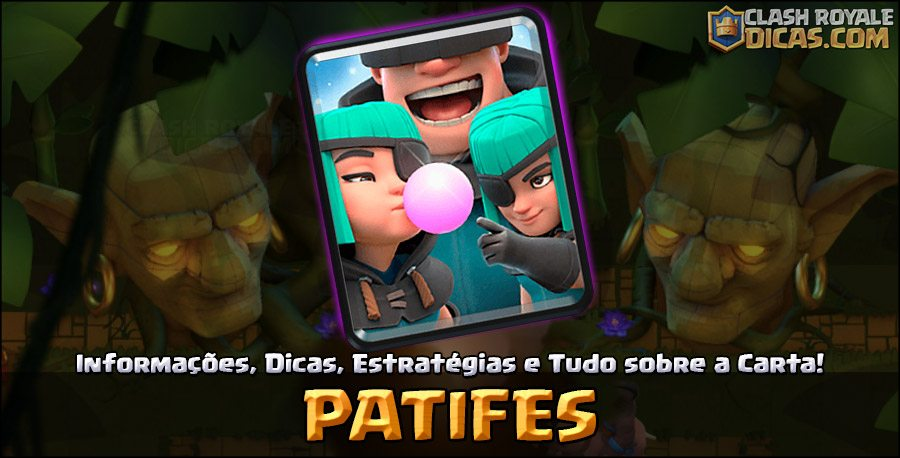 Carta do Patifes em Clash Royale