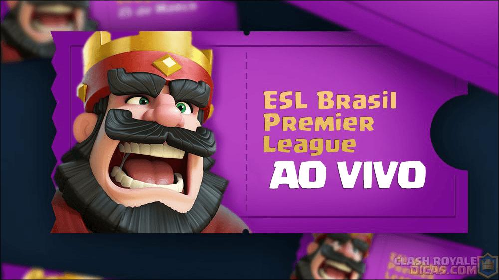 Final Brasil Premier League de Clash Royale (Ao Vivo) - 1