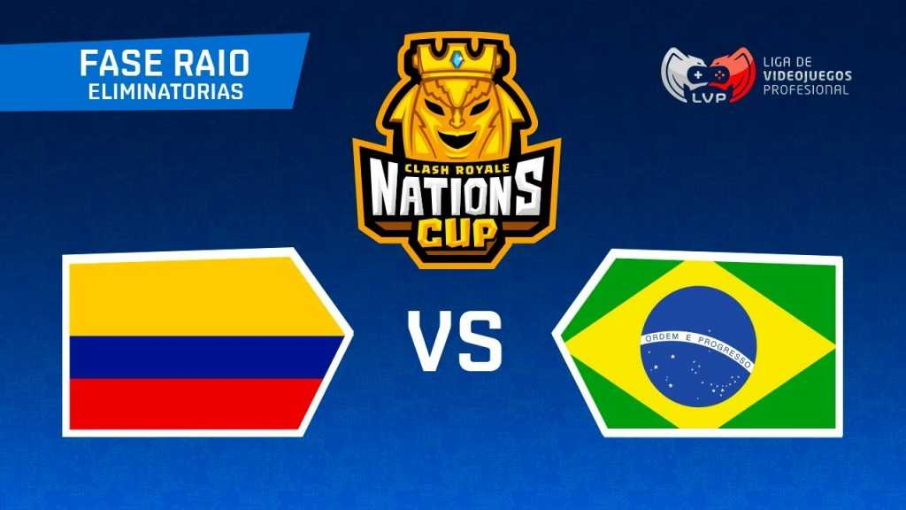 Brasil x Colômbia pela CR Nations Cup AO VIVO (21hrs) - 1
