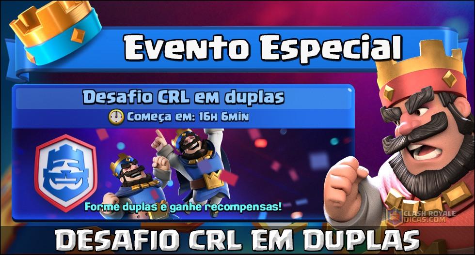 Desafio da CRL em duplas anunciado! - 1