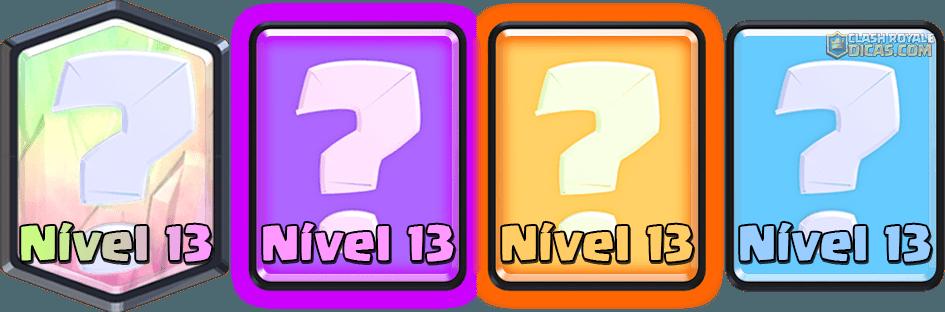 Sneak Peek: Simplificação de nível das Cartas (TUDO NÍVEL 13) - 1