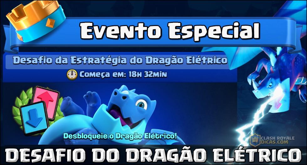Desafio da Estratégia do Dragão Elétrico confirmado!