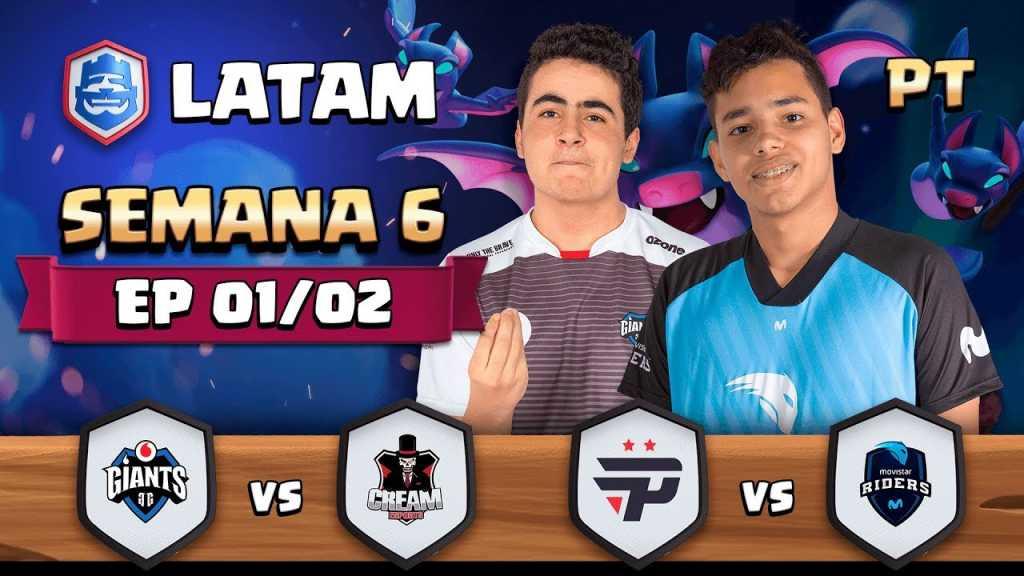 CRL LATAM: Giants Gaming vs Cream eSports | Pain Gaming vs Movistar Riders - 1