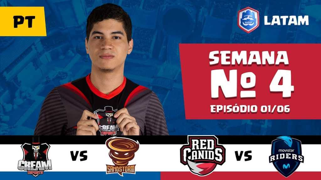 CRL LATAM: Cream eSports vs Sandstorm | Red Canids vs Movistar Riders - 1