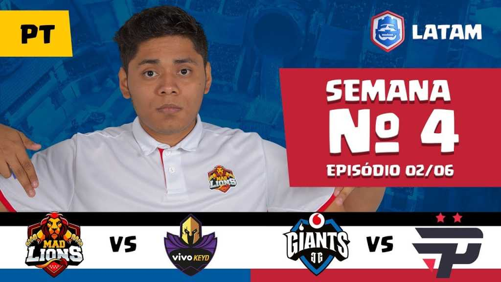 CRL LATAM: Mad Lions vs Vivo Keyd | Giants Gaming vs Pain Gaming - 1