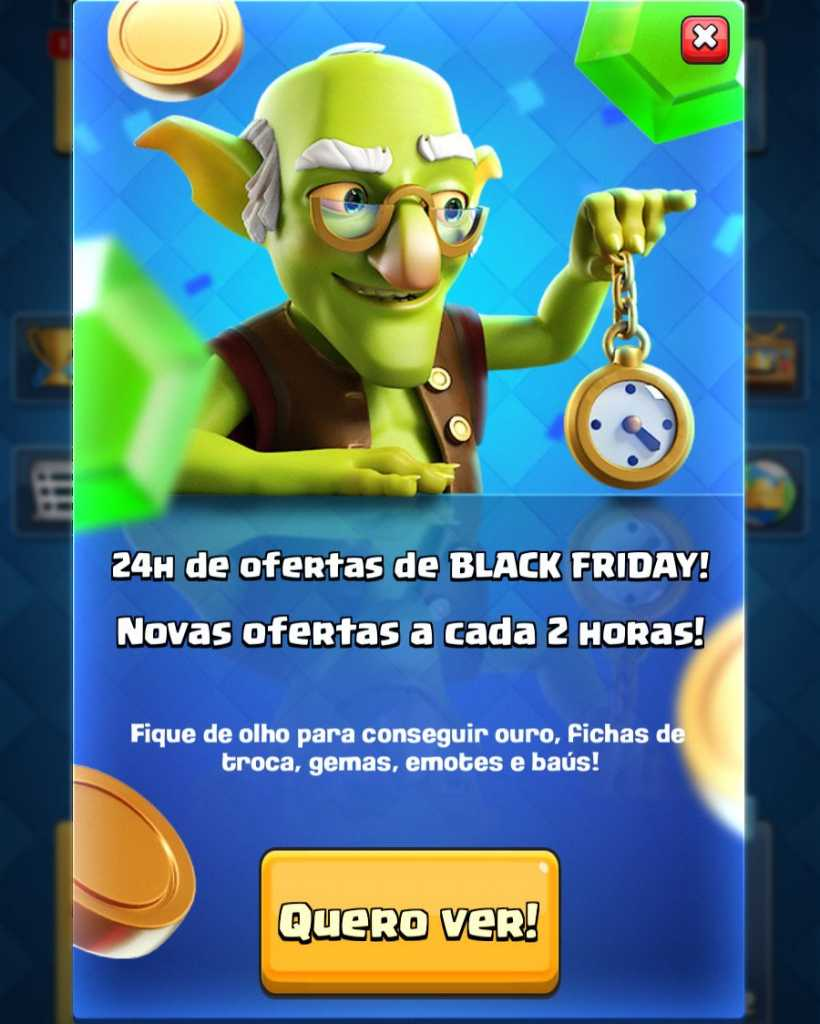 Ofertas Especiais de Black Friday no Clash Royale - 1