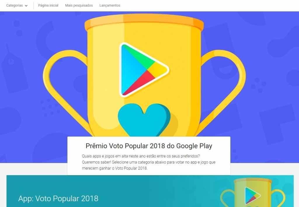 """Clash Royale concorrendo ao """"Jogo Favorito dos Fãs da Google Play de 2018"""" - 1"""