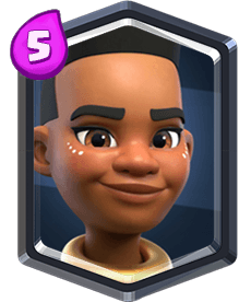 Carta da Domadora de Carneiro do Clash Royale