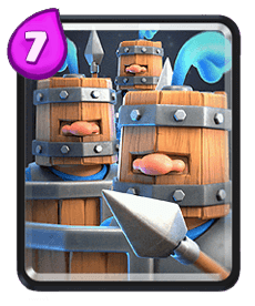 Carta Recrutas Reais de Clash Royale - Wiki da Carta