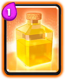Carta da Cura do Clash Royale