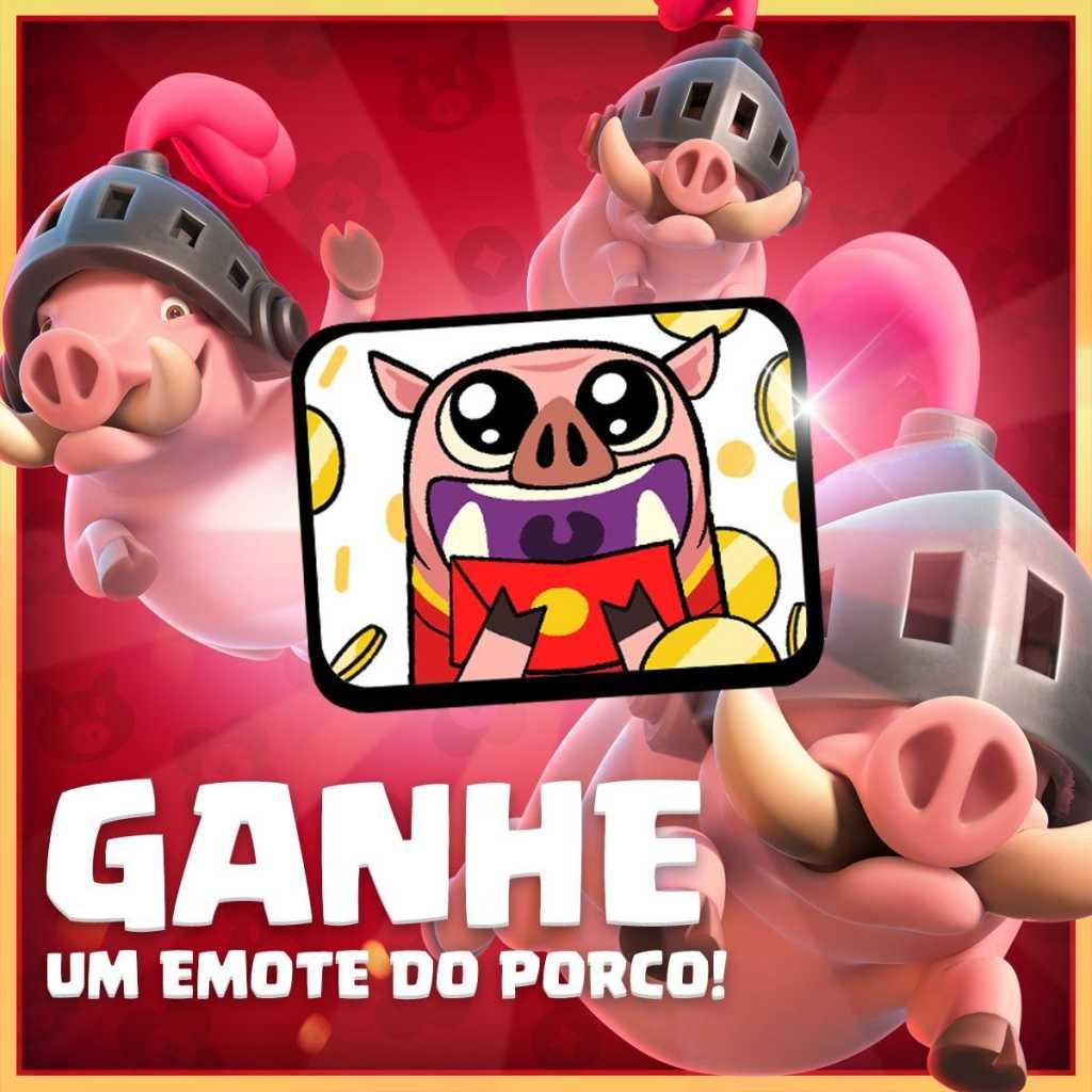 Desafio dos Porcos com novo modo de jogo (Emotes Grátis Exclusivo) - 1