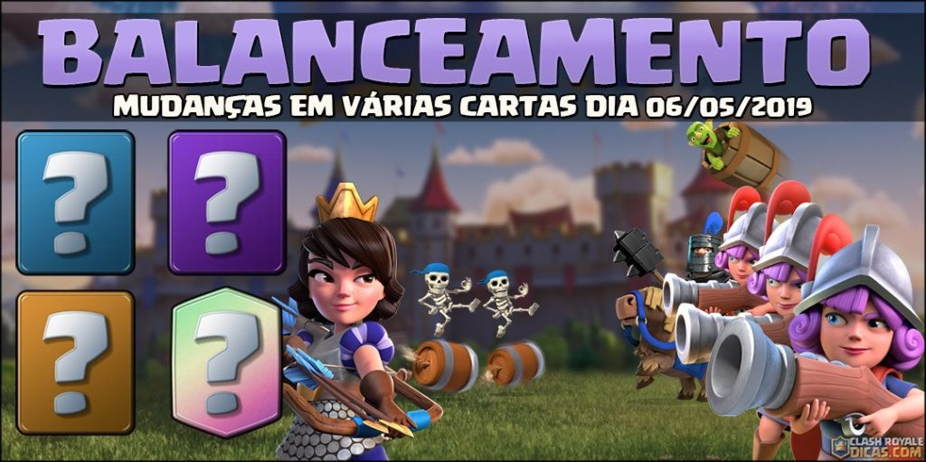 Balanceamento de Maio/2019 do Clash Royale