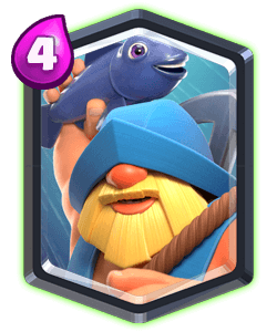 Carta do Pescador do Clash Royale