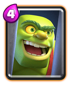 Carta da Jaula de Goblin do Clash Royale