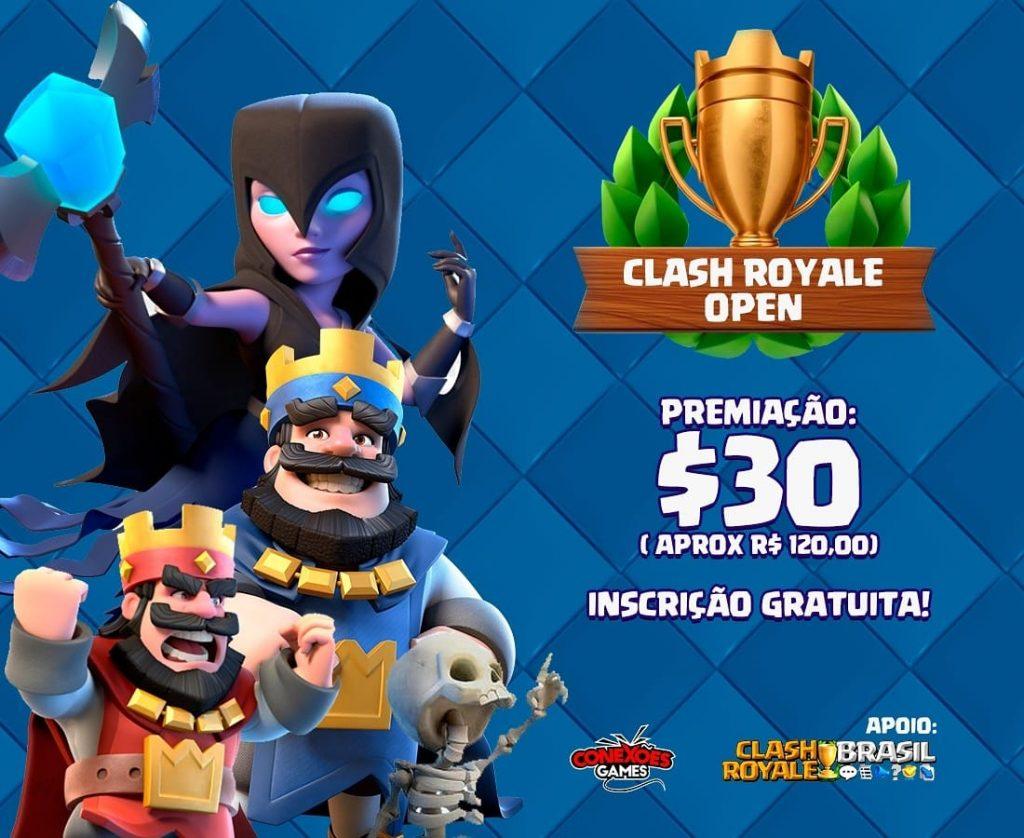 Campeonatos de Clash Royale valendo premiação (Conexões Games) - 1
