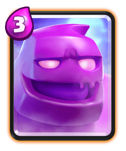 Carta do Golem de Elixir do Clash Royale