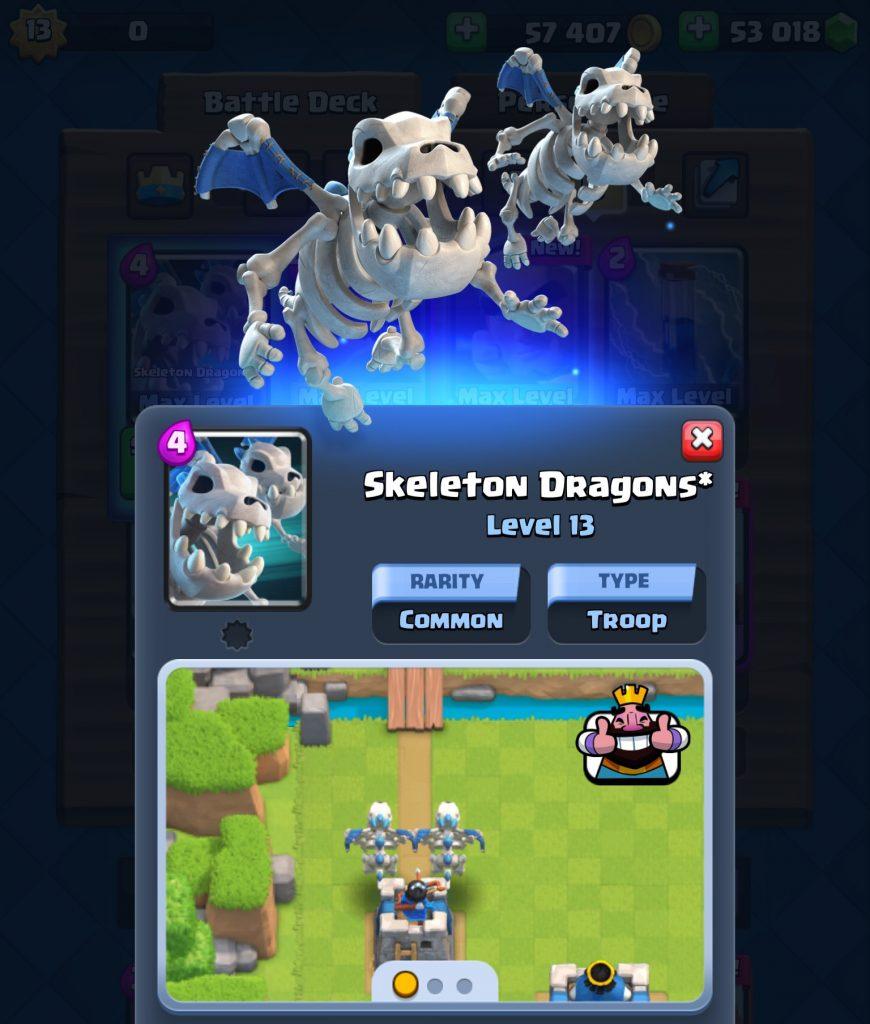 Atributos Dragões Esqueletos
