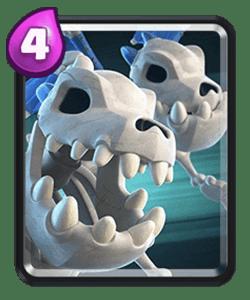 Dragões Esqueleto - Estratégias para atacar e defender em Clash Royale Deck