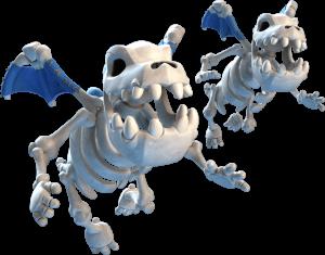 Carta dos Dragões Esqueleto em Clash Royale