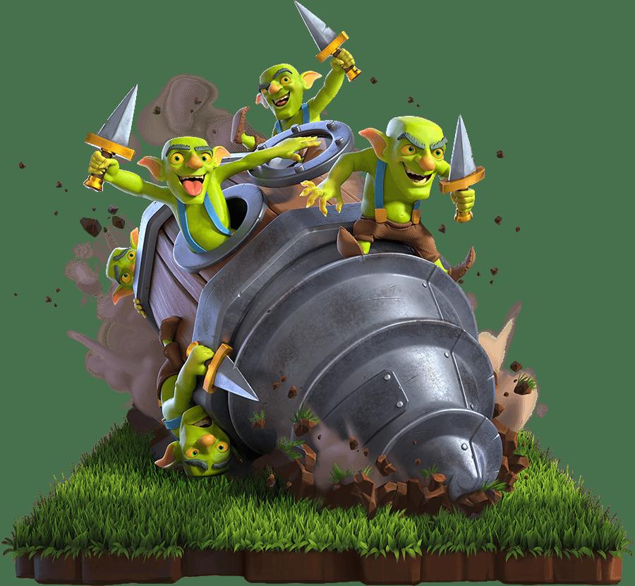 Goblin com Broca Carta Goblin Drill
